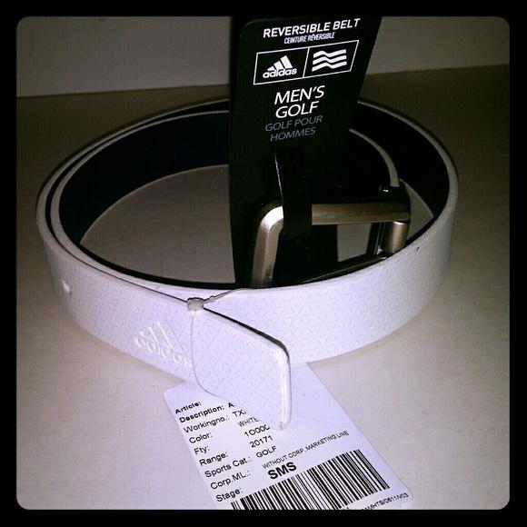 f7d556f53e1611 adidas Accessories   Golf Sample Belt Reversible Taylor Made   Poshmark